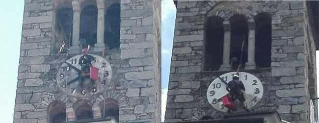 Cireggio lavori campanile