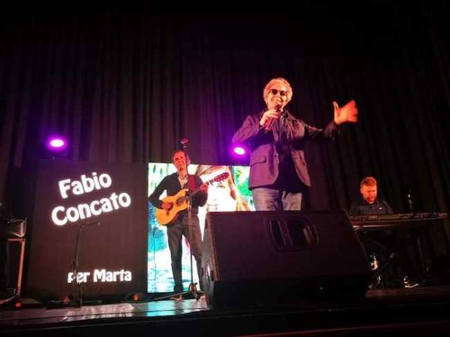 Fabio Concato per Marta fiore di maggio 1