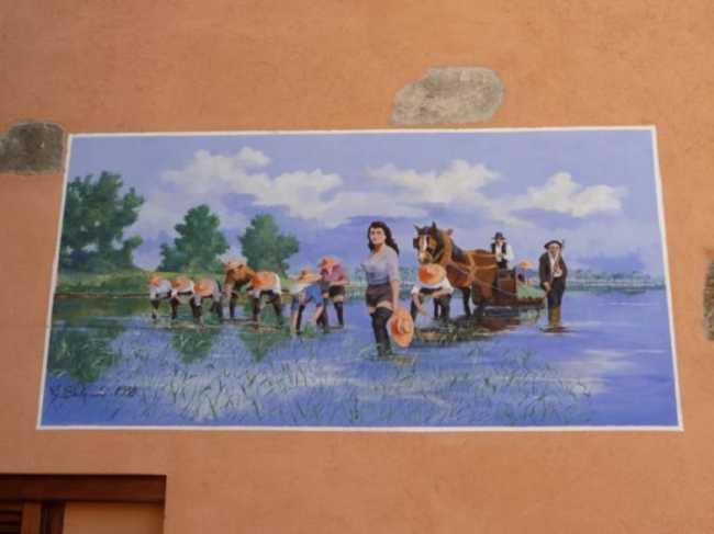 Muri dipinti Legro di Orta