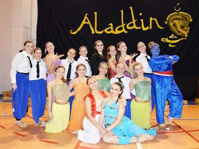 Orta Aladdin spettacolo