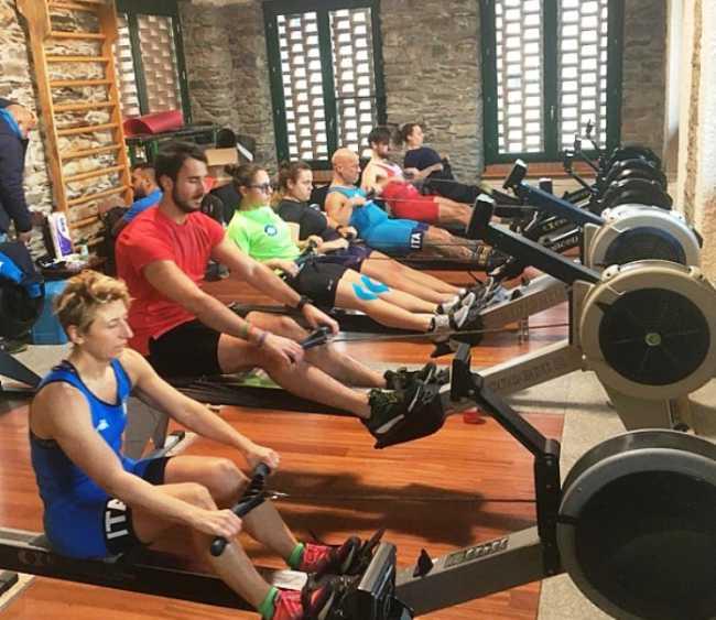 canottaggio para rowing raduno orta