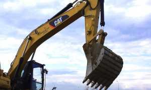 escavatore benna