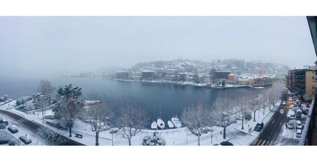 omegna neve lago
