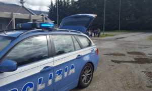 polizia portellone aperto