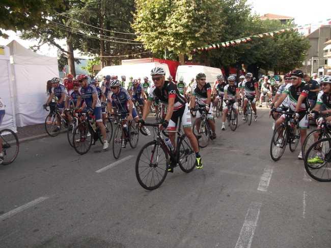 presentazione giro ciclistico