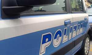 corta auto polizia scritta