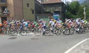 il Giro a Omegna